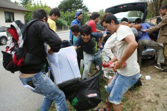 Serangan di penampungan pencari suaka Austria melonjak