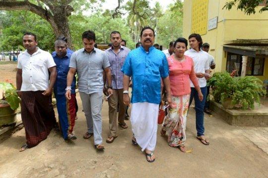 Srilanka hitung suara  pemilihan umum parlemen