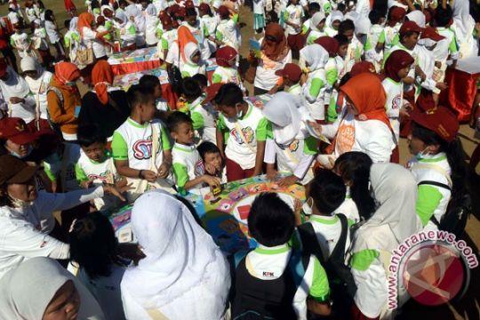"""Permainan """"Semai"""" di Makassar pecahkan rekor MURI"""