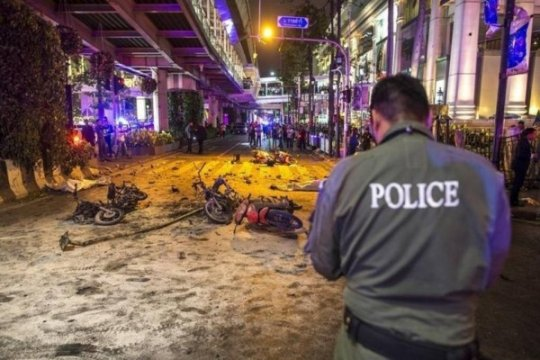 Media lokal: Beberapa ledakan kecil terjadi di Bangkok