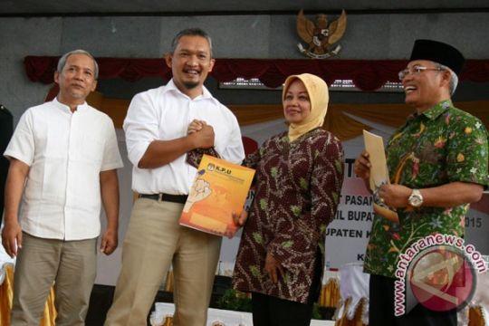 KPU tetapkan Haryanti-Masykuri pemenang Pilkada Kediri