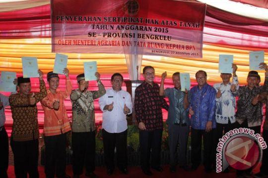 Menteri Agraria : jangan asal jual lahan ke perusahaan