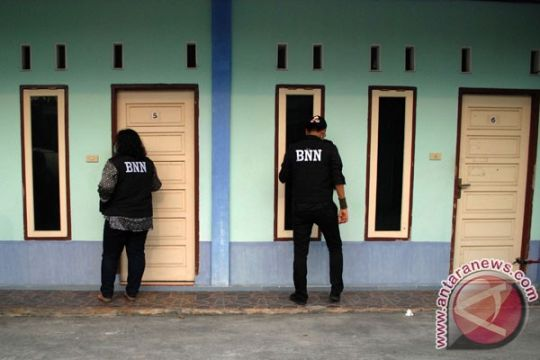 BNN amankan 23 terduga penyalahguna narkoba di Pekanbaru