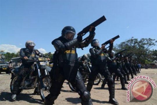 80 polisi amankan rekapitulasi suara Pilkada Karimun