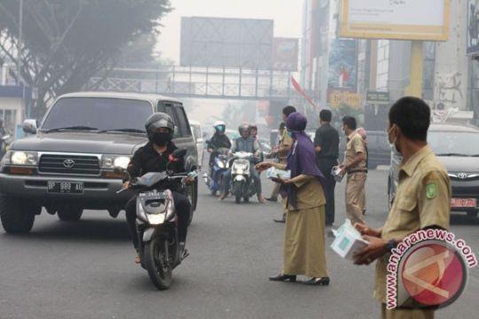 Murid SD di Indragiri Hilir mulai diliburkan karena asap