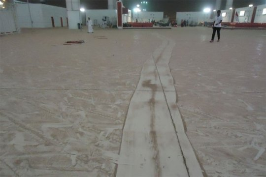 Badai pasir fenomena alam biasa