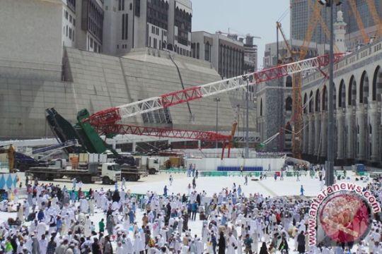 Pemerintah akan tanyakan soal santunan korban crane pada Raja Salman