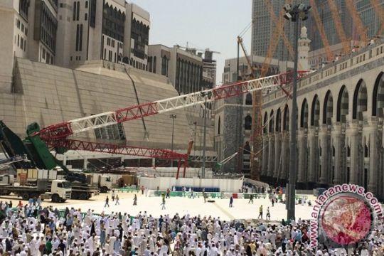 Saudi: jatuhnya crane karena kelalaian pengembang