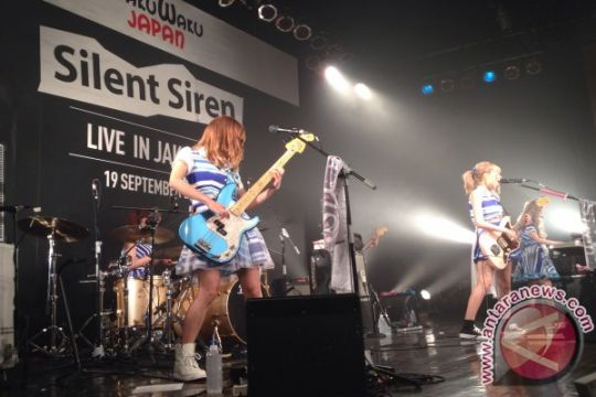Band Jepang Silent Siren menyapa Jakarta