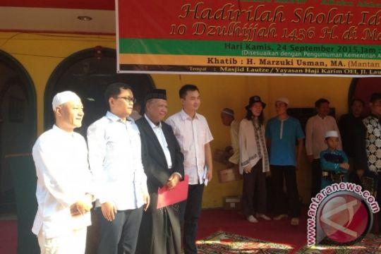 Pesan Marzuki Usman saat jadi khatib Masjid Lautze