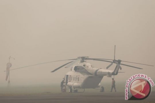 Pilot helikopter jatuh di Papua hanya luka-luka