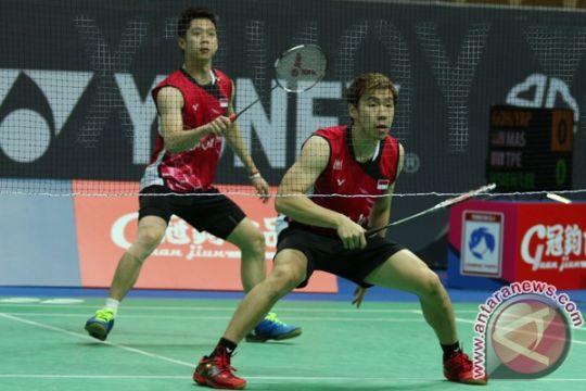 Dua ganda putra Indonesia melaju ke semifinal India Terbuka