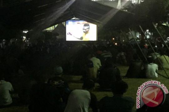 RRI Palembang gelar nonton bareng Sriwijaya FC vs Persib