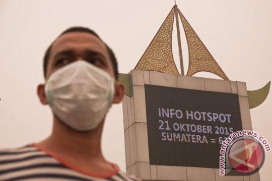 Riau masih dikepung puluhan titik panas