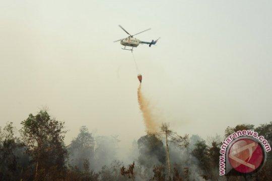 Satgas: Tiga heli pemadam karhutla dipindahkan dari Riau