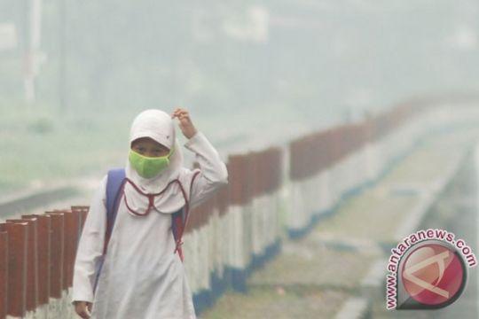 BENCANA ASAP - Jarak pandang di Padang capai 700 meter