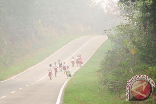 Ketapang bangun jalan Pelang - Batu Tajam dengan dana Rp58, 955 milyar