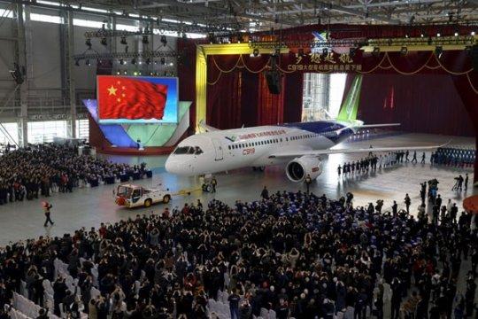 Purwarupa ke-6 jet C919 milik China lalui uji terbang pertama