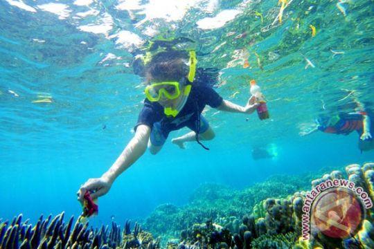 Putri Pariwisata : Taman Laut Olele menakjubkan