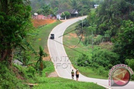 Jalan trans-Kalimantan memadai untuk angkutan mudik