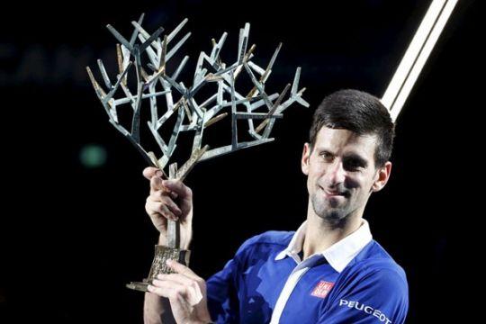 Djokovic peringkat atas tenis dunia akhir tahun