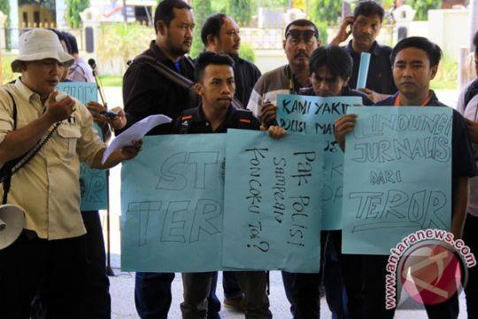Wartawan Malang kecam teror jurnalis Lumajang