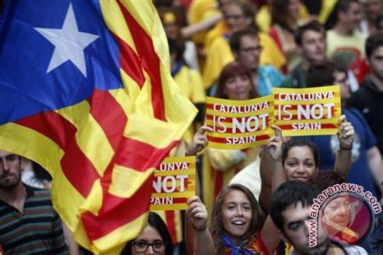 Spanyol bakal jerat pimpinan Catalonia dengan pasal pemberontakan