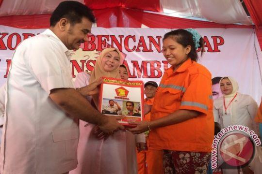 Pindra salurkan bantuan kabut asap di Jambi