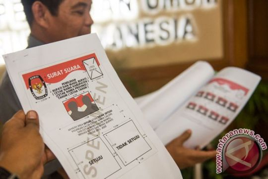 PNRI sudah terima pesanan surat suara dari 12 daerah