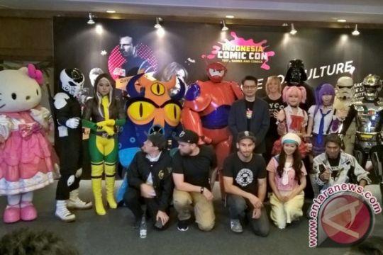 Indonesia Comic Con 2015 satukan budaya pop Timur dan Barat