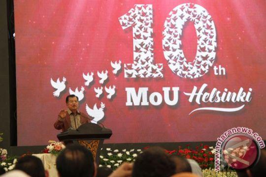 Wapres Kalla ungkap proses perdamaian Aceh