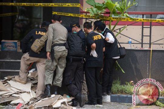 Polisi belum temukan pelaku ledakan Duren Sawit