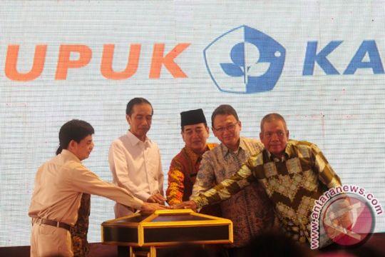 Presiden resmikan pabrik pupuk terbesar Asia Tenggara
