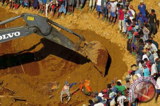 Lebih dari 50 orang tewas tertimbun longsoran tambang giok di Myanmar