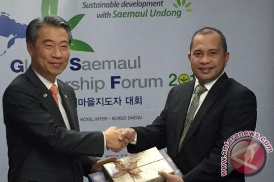Mendes tingkatkan kerjasama desa di Forum Saemaul