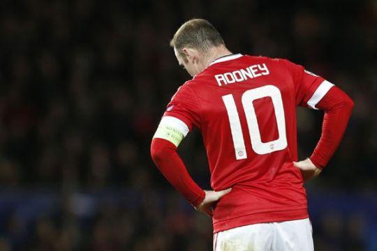 Susunan pemain MU vs Leicester, Rooney cadangan
