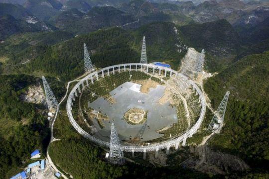 China luncurkan teleskop raksasa pelajari kehidupan di luar bumi