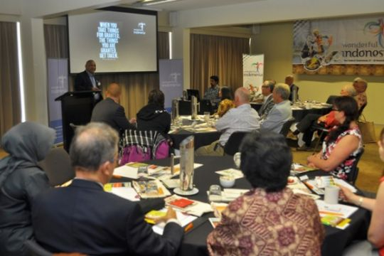 KBRI di Wellington promosikan pariwisata Indonesia