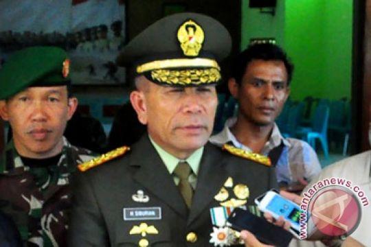 Kontak senjata di Puncak Jaya, satu anggota TNI tertembak