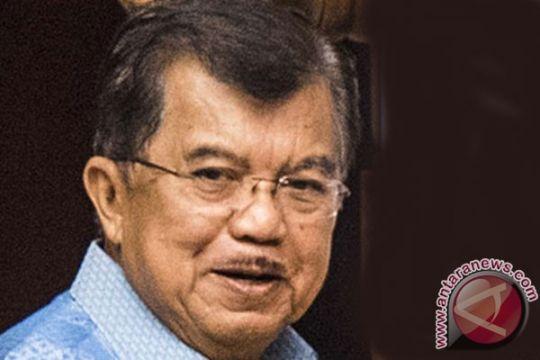 Sejumlah menteri rapat penanganan kemiskinan dengan Wapres Kalla