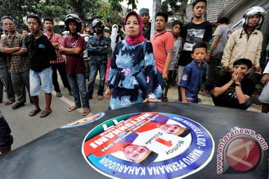 Polisi Balikpapan amankan 13 orang saat pleno penghitungan suara