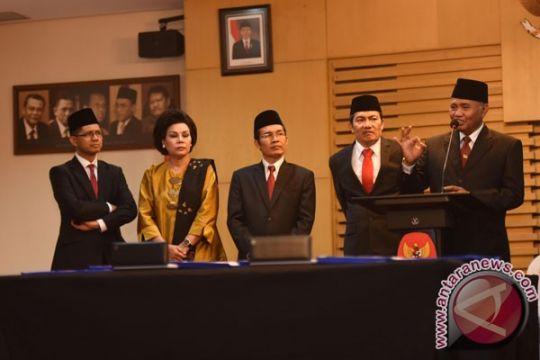 Kerja pimpinan baru KPK di hari pertama