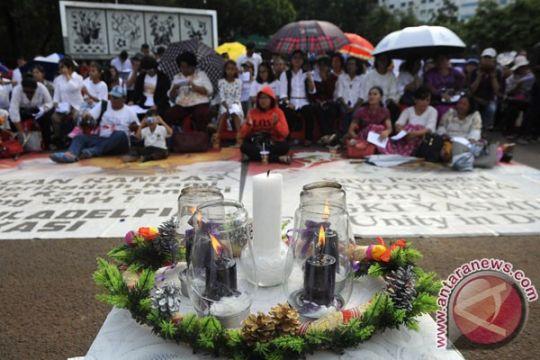 Natal kedua jemaat GKI Yasmin di depan Istana