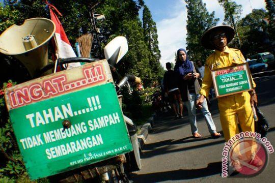 Kesadaran warga Nunukan untuk tidak membuang sampah sembarangan masih rendah