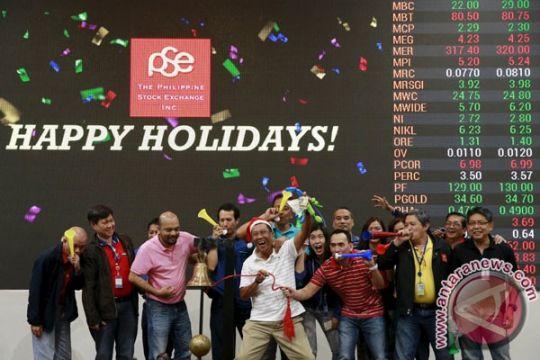 Saham Filipina melambung, Indeks PSE berakhir melonjak 2,05 persen