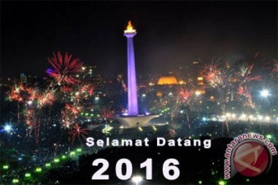 Seluruh acara Tahun Baru dibatasi pukul 04.00 WIB