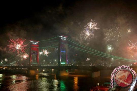 Jembatan Ampera ditutup jelang pergantian tahun