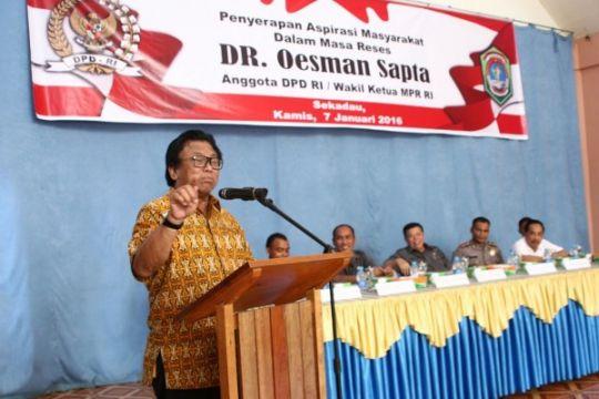 Wakil Ketua MPR perjuangkan aspirasi rakyat Sekadau