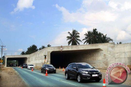 Tol Trans Sumatera sudah tuntas dicor 3,25 km