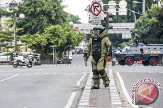 BOM JAKARTA - Pelaku teror Jakarta diduga afiliasi ISIS